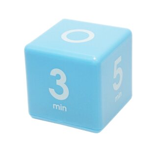 1-3-5-7 Minute Preset Cube Timer