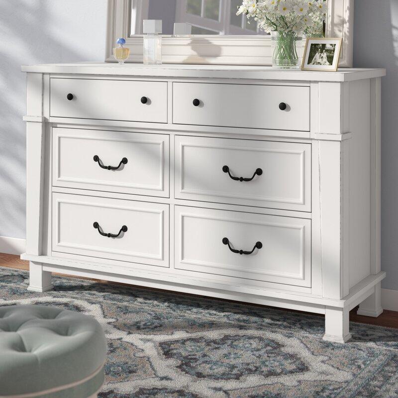 Three Posts Derwent 6 Drawer Dresser