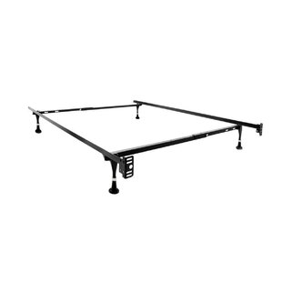 Rest Easy Heavy Duty Adjustable Size Bed Frame by Alwyn Home