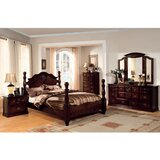 Sebbie California King Four Poster Bed by Canora Grey