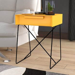 Battiste End Table by Wrought Studio