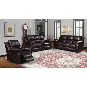 Red Barrel Studio RDBT4752 Yellowhammer 3 Piece Wood Frame Living Room Set