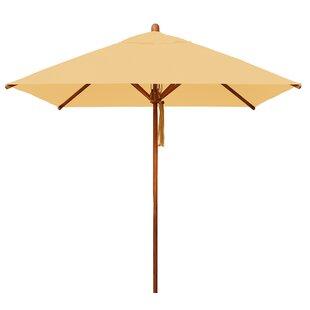 Bambrella Levante 7' Square Market Umbrella