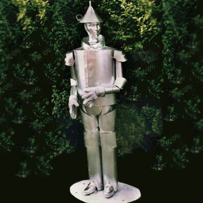 Tin Man Garden Statue