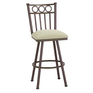 Hunsaker 26 Swivel Bar Stool Red Barrel Studio