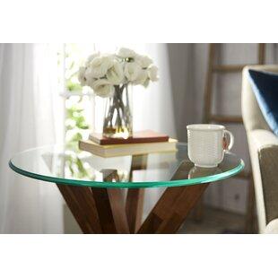 Round Glass Indoor Table Top
