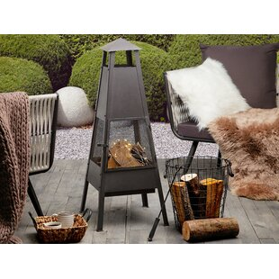 Maki Steel Charcoal Fire Pit By Sol 72 Outdoor