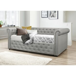 Top Reviews Salomon Upholstered Daybed by Canora Grey Reviews (2019) & Buyer's Guide