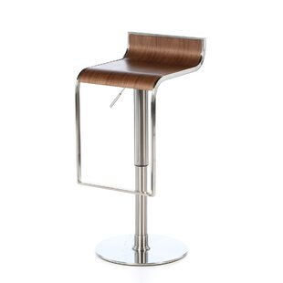 Bannerdown Contemporary Adjustable Height Swivel Bar Stool Orren Ellis