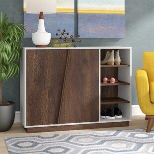Inexpensive 16 Pair Shoe Storage Cabinet ByCorrigan Studio