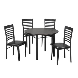 Wedgewood 5 Piece Drop Leaf Dining Set Winston Porter