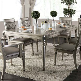 House of Hampton Fordyce Solid Wood Dinin..