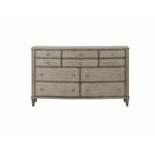 Reviews Amiya 10 Drawer Double Dresser by One Allium Way
