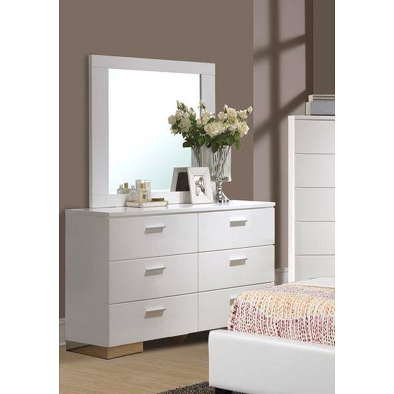 Branchville 6 Drawer Double Dresser
