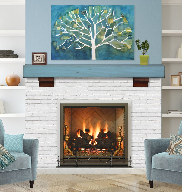 Pearl Mantels Shenandoah Fireplace Mantel Shelf & Reviews | Wayfair