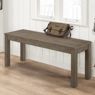 Inexpensive Chetna Simple Wood Dining Bench By Gracie Oaks