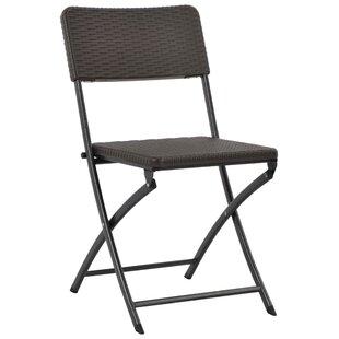 Kittie Folding Garden Chair (Set Of 4) By Sol 72 Outdoor