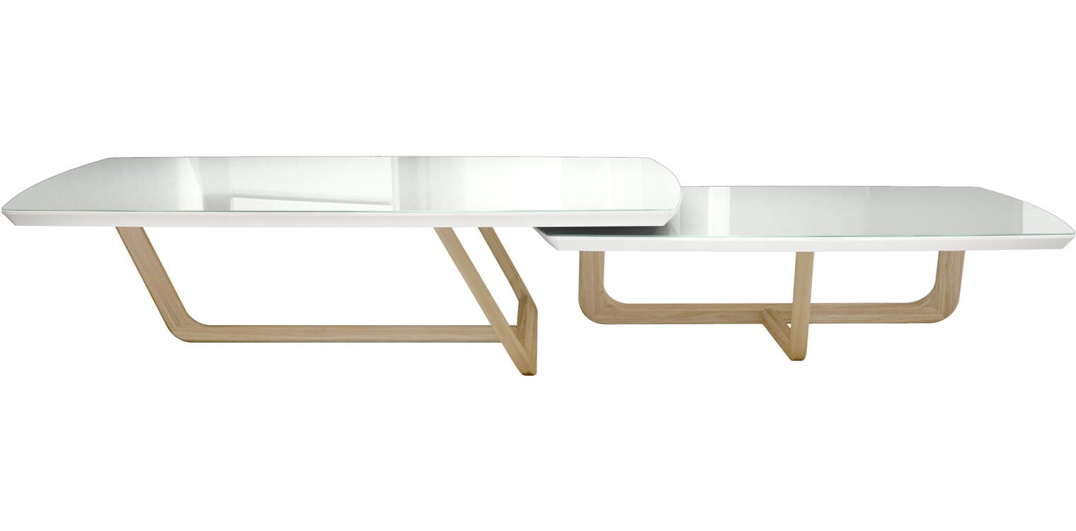 Attractive Belvedere 2 Piece Coffee Table Set