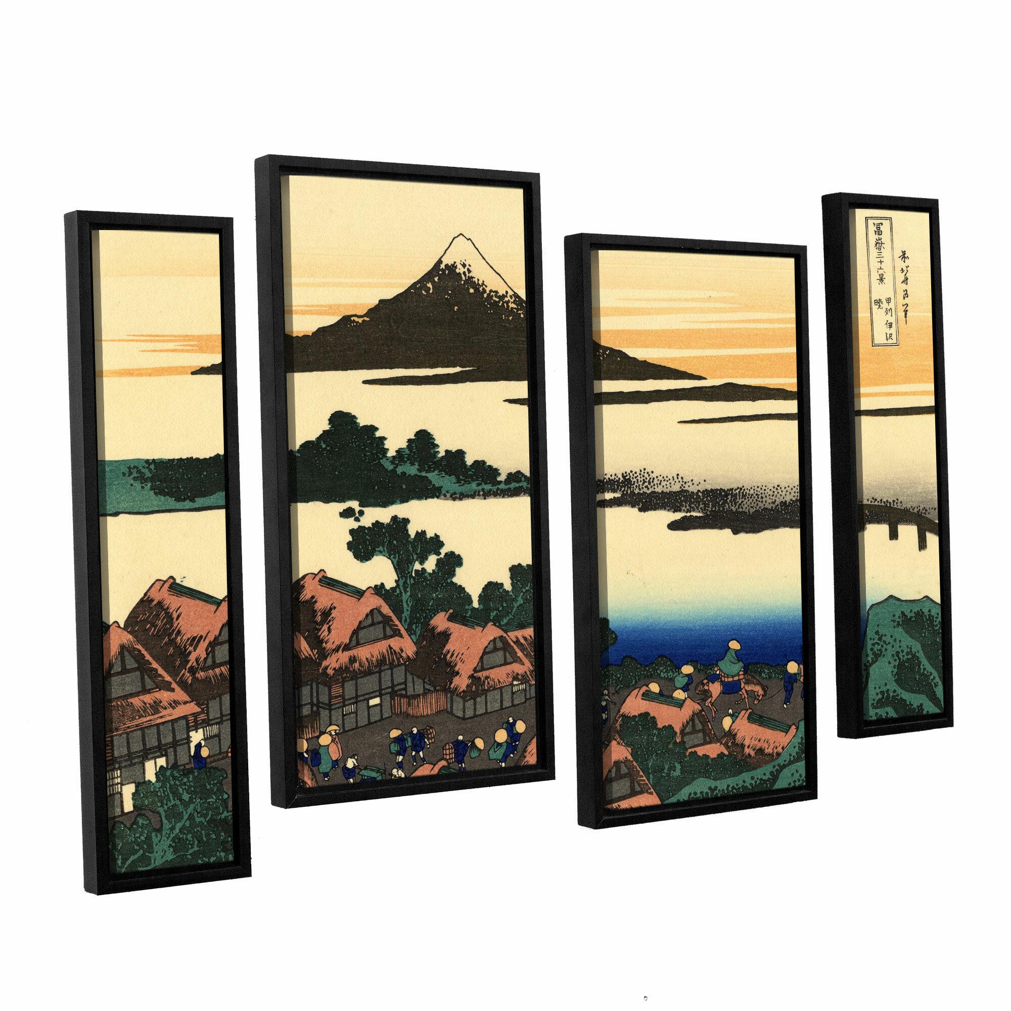 Vault W Artwork Dawn At Isawa In The Kai Province By Katsushika Hokusai Print Multi Piece Image On Canvas Wayfair