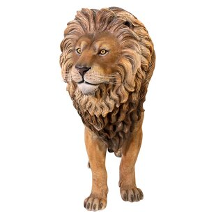 Life Size King Of The Lions Sculpture
