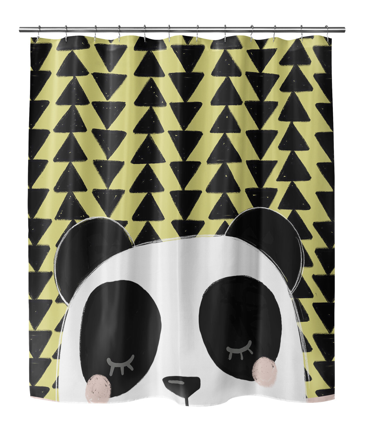 Mack Milo Bindy Panda Shower Curtain
