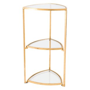 Bretagne Corner Tri Level End Table