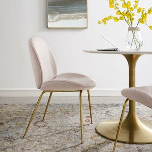 Jaynes Leg Performance Upholstered Dining Chair