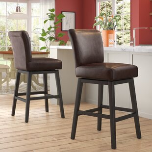 Cheeseman 30.75 Swivel Bar Stool Winston Porter