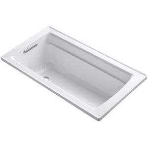 Archer Drop-In Bath with Reversible Drain
