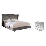 Sasha Upholstered Platform Configurable Bedroom Set by Everly Quinn