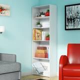 Carson 5 Shelf Bookcase White Wayfair