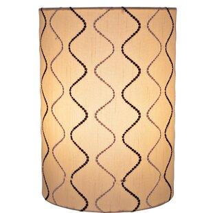 Cylinder Spider Construction 8 Linen Drum Lamp Shade