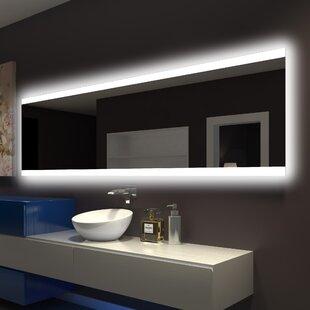 Best Reviews Backlit Bathroom/Vanity Wall Mirror ByParis Mirror