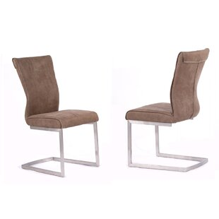 Carballo Fabric Side Chair (Set of 2) Orren Ellis