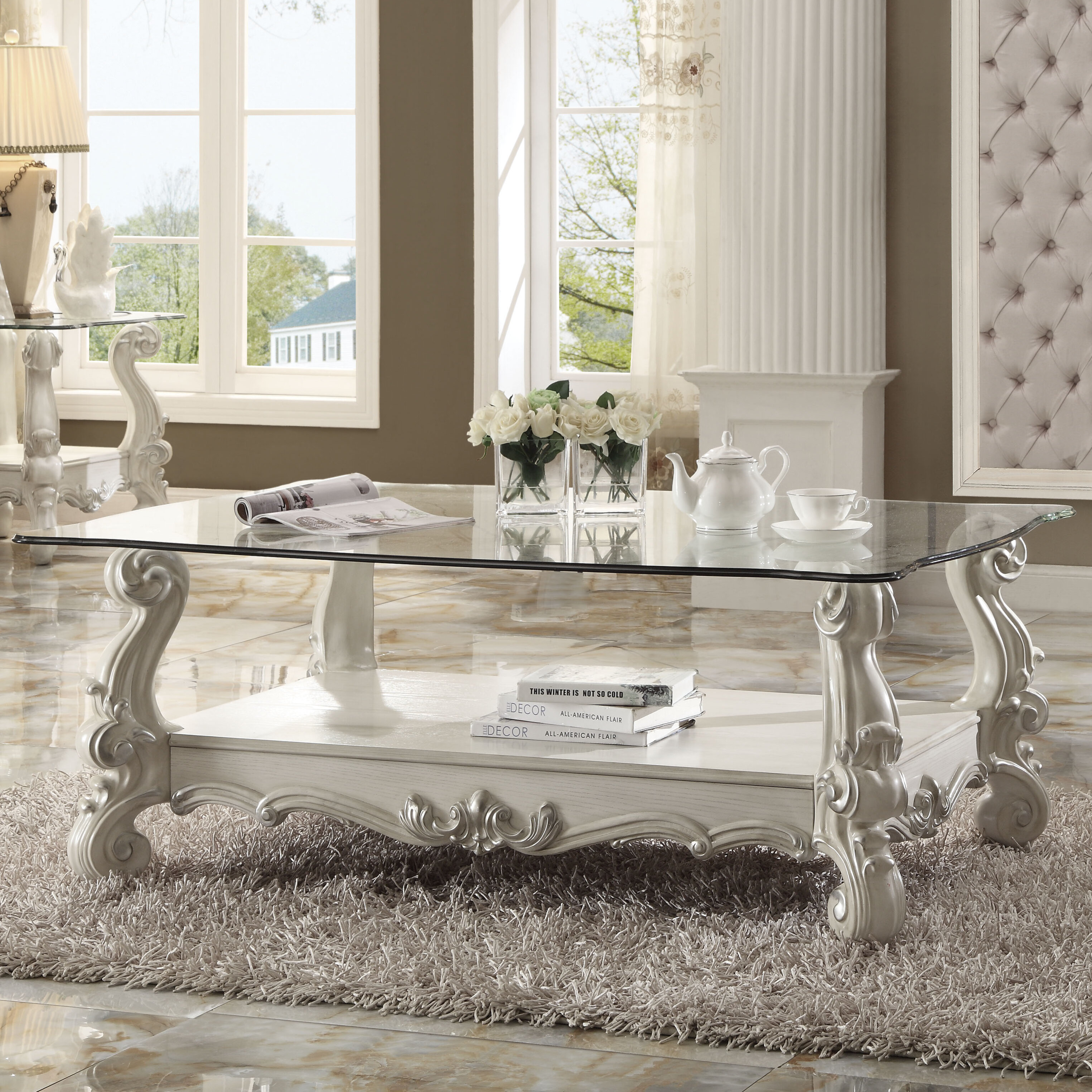 Picture of: Astoria Grand Welton Traditional Coffee Table Reviews Wayfair