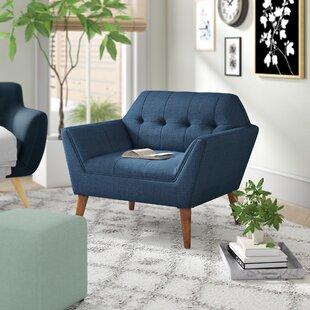 Hoboken 38'' Wide Tufted Armchair