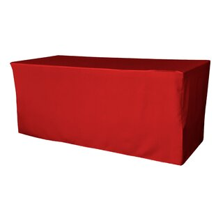 Lapp Polyester Poplin Rectangular Fitted Tablecloth
