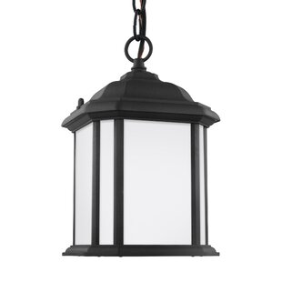 Reviews Crandall Outdoor Hanging Lantern By Charlton Home