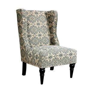 Belcher Wingback Chair by Alcott Hill
