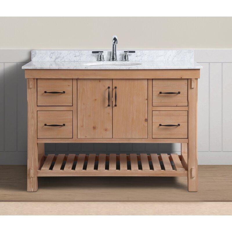Three Posts Kordell 48 Single Bathroom Vanity Set Reviews Wayfair