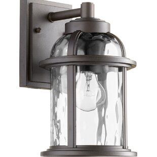 Best Spafford 1-Light Outdoor Wall Lantern By Darby Home Co
