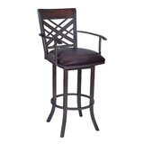 Tahiti 30 Swivel Bar Stool with Cushion by Armen Living