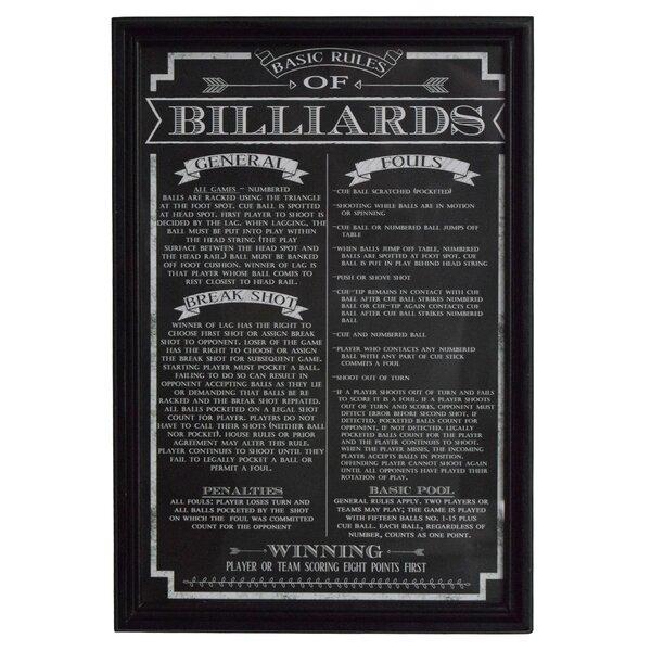 Billiard Score Board Wayfair