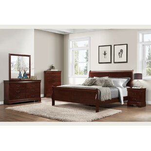 Cali Panel Bed by Charlton Home