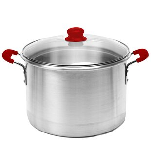 Global Kitchen 12 qt. Stock Pot with Lid