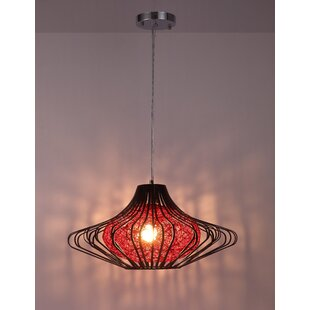 World Menagerie Schafer 1-Light Novelty Pendant