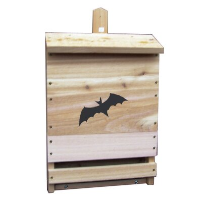 Single Cell Mounted Bat House Stovall