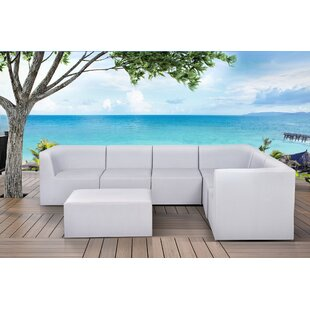 Pruett 7 Piece Modular Sectional with Cushions