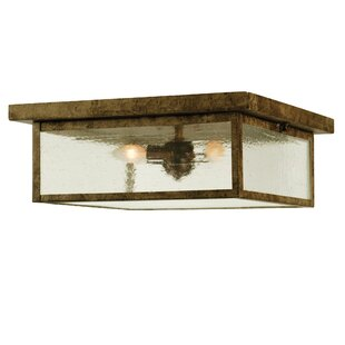 Meyda Tiffany Mission Prime 3-Light Flush Mount