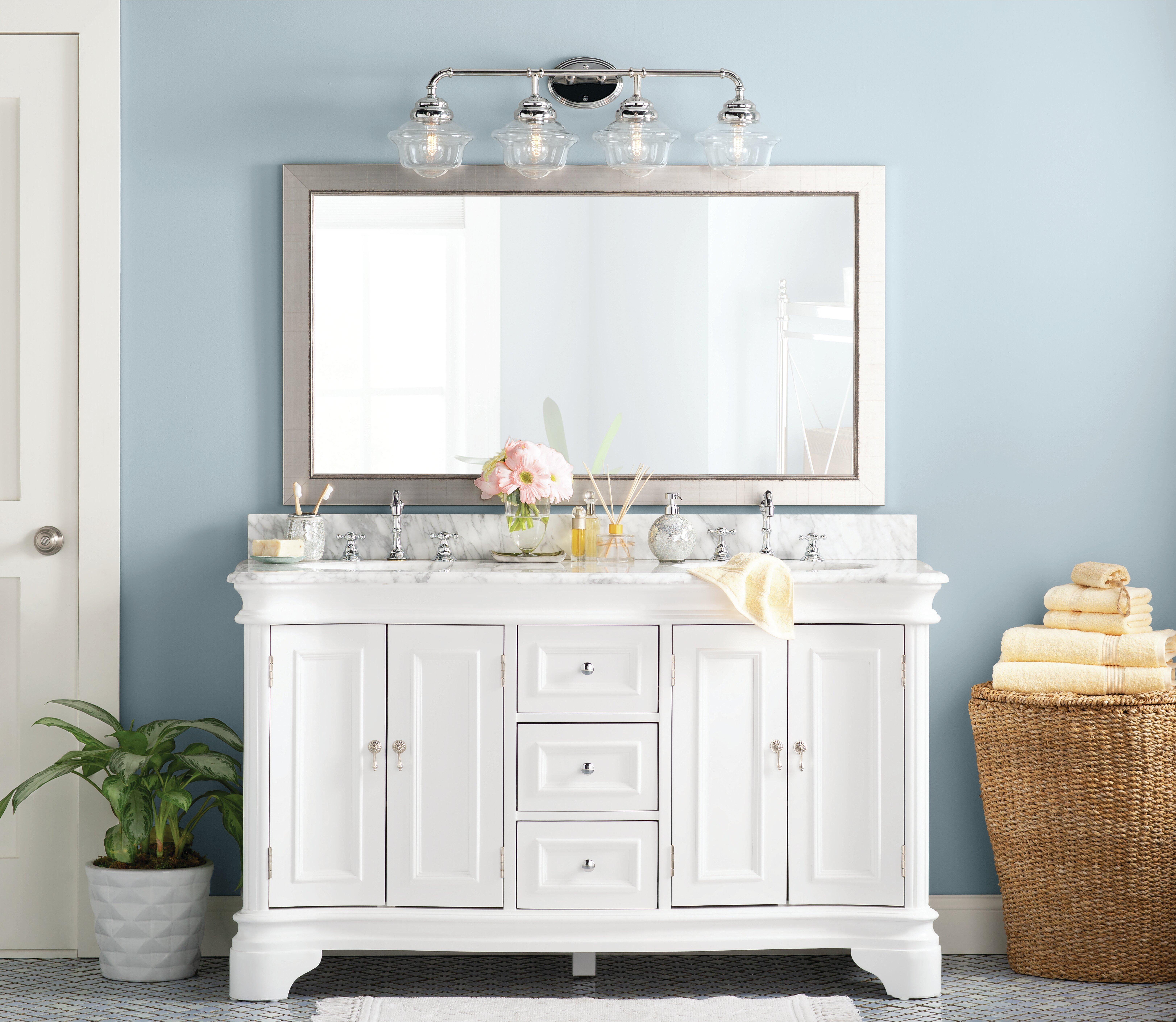 Image of: Modern Contemporary Bathroom Vanity Mirror Reviews Joss Main